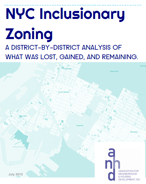 NYC Inclusionary Zoning