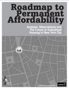 Roadmap to Permanent Affordability
