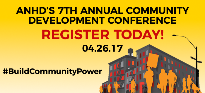 ANHD's 7th Annual Community Development Conference