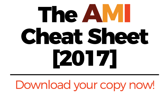 The AMI Cheat Sheet [2017]