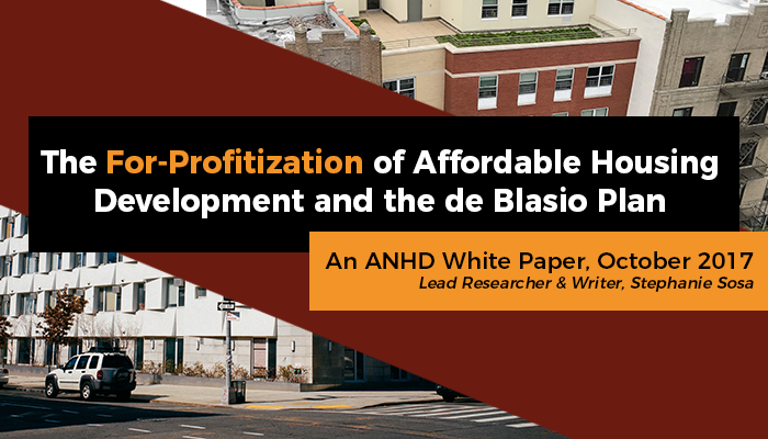 New ANHD White Paper